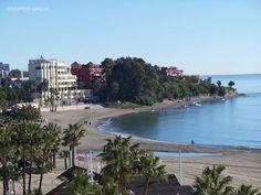 Playa del Cristo en Estepona.