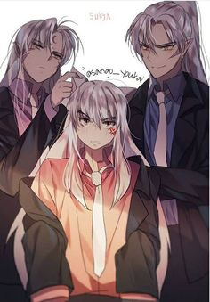 The three Taisho - Inuyasha