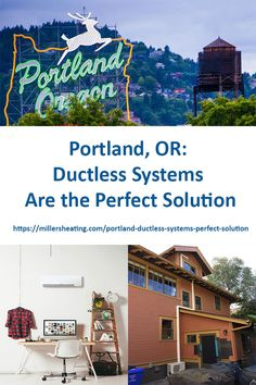 Ductless systems are up to more efficient than traditional systems, easy to install and can be custom designed for your home. Enclosed Patio, Heating And Cooling, Condos, Portland, Apartments, Living Spaces, Custom Design, Rooms, Traditional