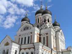 """Tallin, Estonia - this church was spared being turned into something """"secular"""". Rather the citizens convinced the communist party to turn it into a museum. All sacred artifacts were removed; the structure itself was preserved."""