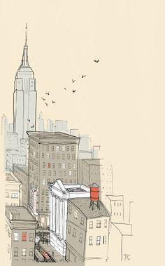 Illustration of NY