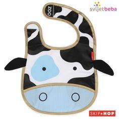 Zebra Skip Hop Zoo Tuck-away Bib