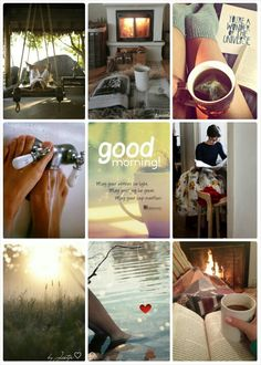 Good morning! #Moodboards #Mosaic #Collage