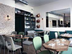 Café pinson N° 2 - poissonnière Brunch Salon de thé / coffee shop Végétarien  58 rue du Faubourg Poissonnière 75010 Open Mon-Wed 8:30am-7pm, Thur-Sat 8:30am-12pm, closed Sun.