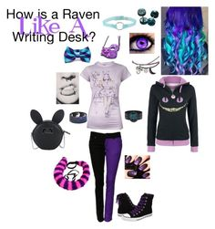 """""""Outfit For @vampirekitten19"""" by serenity-sempiternal2006 ❤ liked on Polyvore featuring Disney and Converse"""