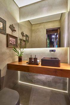 15 lavabos com decoração moderna e contemporânea para você se inspirar