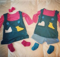 Rugrats twins Phil and Lil Deville Halloween costumes