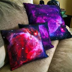 Galaxy Pillow Throw Pillow - Home Fabric Rug, Throw Pillows, Trending Outfits, Wells, Invite, Etsy, Journey, Ink, Space