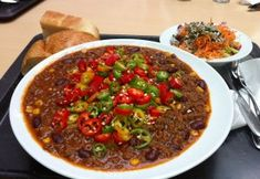 Recept na pravé chilli con carne Chipotle, Chili, Soup, Treats, Diet, Asia, Red Peppers, Sweet Like Candy, Goodies