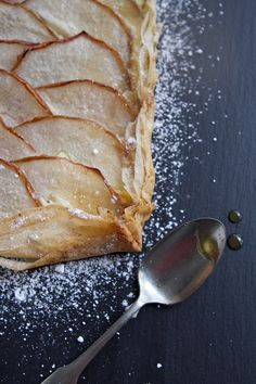 pear tart with ginger and vanilla  http://www.acommunaltable.com