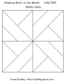 Free Quilt Patterns For Beginners | Quilt blocks images were prepared by Susan Druding with Electric Quilt ...