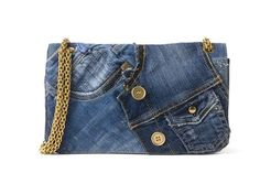 Denim-Bag von Trussardi