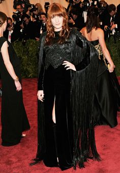 Flo in Givenchy at the Met Ball 2013 #flostyle #florencewelch #florenceandthemachine