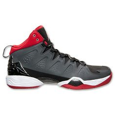 Jordan Melo M10 (Anthracite/Gym Red/Black/White)  #bestsneakersever.com #sneakers #shoes #nike #jordan #melo #m10 #anthacite #gymred #black #white #style #fashion