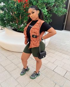 Cute Casual Outfits, Curvy Outfits, Dope Outfits, Summer Outfits, Girl Outfits, Fashion Outfits, Urban Fashion, New Fashion, Birthday Fashion