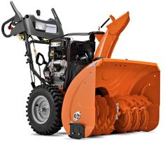 #Husqvarna 1830HV 30-Inch 414cc #SnowKing Gas Powered Two Stage Snow Thrower With Electric Start & Power Steering