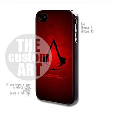Assassin Screed - For iPhone 4 / 4s | TheCustomArt - Accessories on ArtFire