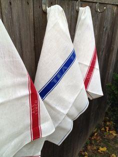 Irish linen tea towel