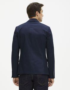 Veste seul uni coton stretch - FUPRIMO - Celio France