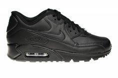 Deze helemaal zwarte Nike Air Max 90 in het leer is al jaren de meest populaire Air Max 90. Het is een ware klassieker, die ieder jaar weer terugkeert.
