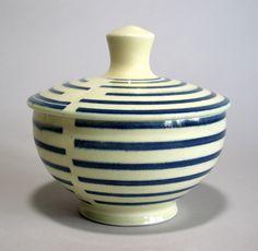 Small Lidded jar by potterybynena on Etsy