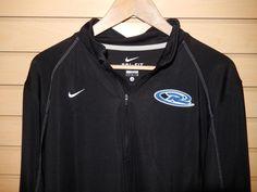 0b67add85de Nike Dri Fit Long Sleeve 1/4 Zip Training Top Jacket L Alaska Rush Soccer  361048