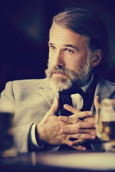 Christoph Waltz in Quentin Tarantino's Django Unchained