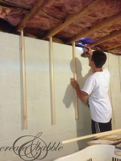 Ceiling Hanger Shelves Hang From Joists In Garage