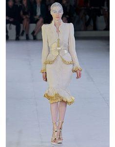 Paris Fashion Week Spring 2012 Runway. Alexander McQueen