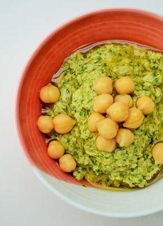 Tinned Tomatoes: Kale, Coriander and Hemp Hummus for National Vegetarian Week Veggie Recipes, Whole Food Recipes, Vegetarian Recipes, Healthy Recipes, Weed Recipes, Delicious Recipes, Tasty, Healthy Dips, Healthy Eating