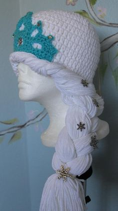 #Crochet gorro de Princesa de invierno (Video 1)                              …