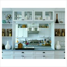 GAP Interiors - Modern kitchen with serving hatch - Picture library specialising in Interiors, Lifestyle & Homes