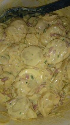 Salade de pommes de terre Alsacienne | Recettes Cookéo