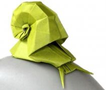Snail origami