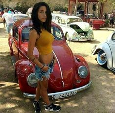 Sexy, Volkswagen and Distance on Ferdinand Porsche, Sexy Cars, Hot Cars, Vw Bus, Vw Volkswagen, Vespa, Kdf Wagen, Hot Vw, Bus Girl