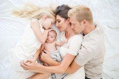 Family newborn photos in San Diego