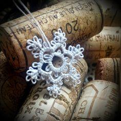 Decoromana: Glittery snowflake