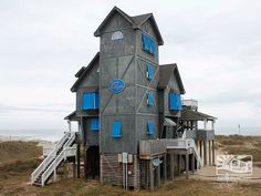 Inn at Rodanthe Hatteras Island Today.  Click to read!! It's been saved & is a real Inn now!