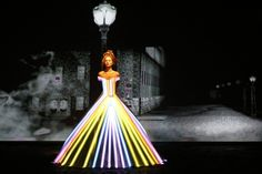 High-Tech Haute Couture Is 14 Dresses In One.  Interesting.