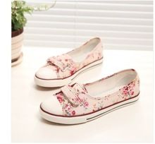 New 2014 fashion high quality brand canvas women flat shoes women flats and women's spring autumn shoes women casual shoes T33(China (Mainla...