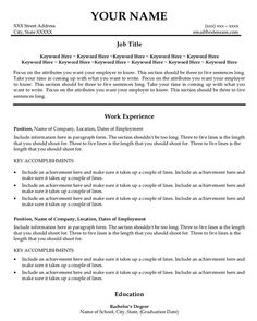 Samples Of Resumes For Customer Service Jobs Here we are going to ...