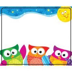 Owl-Stars!® Terrific Labels™