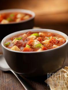 Casserole santé aux tomates pois chiches et tofu