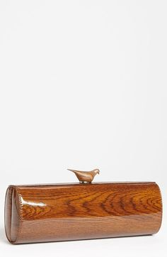 kate+spade+new+york+'knock+on+wood+-+woodpecker'+clutch+available+at+#Nordstrom