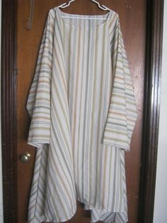 5X  6X Striped Tunic in Fall Colors by AlessandraGoldKey on Etsy, $12.50