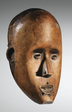 Gabon or Cameroon. Fang mask.