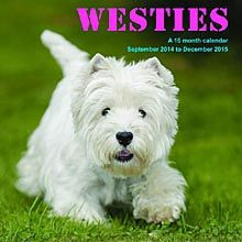 Westies 2015 Wall Calendar