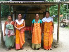 Meet the Ladies of the Bodo Handloom Scheme Yorkshire Tea, India People, Bodo, Asian History, Ethnic Dress, Saris, Kids Rooms, Costumes, Traditional