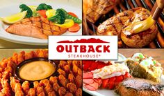 Outback Steakhouse Recipes List and the Outback Bloomin Onion Recipe Outback Steakhouse Recipes, Outback Recipes, Copycat Recipes, Restaurant Deals, Restaurant Recipes, Restaurant Coupons, Restaurant Dishes, Dinner Entrees, Dinner Recipes