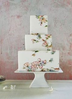 Wedding cake trends for 2018: From Naked to painted